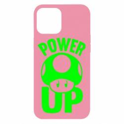 Чехол для iPhone 12 Pro Max Power Up гриб Марио