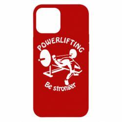 Чехол для iPhone 12 Pro Max Powerlifting be Stronger