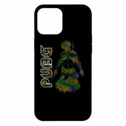 Чохол для iPhone 12 Pro Max Pubg camouflage silhouette