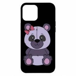 Чохол для iPhone 12 Pro Max Purple Teddy Bear
