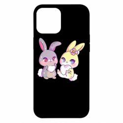 Чохол для iPhone 12 Pro Max Rabbits In Love