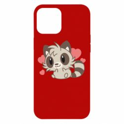Чехол для iPhone 12 Pro Max Raccoon chibi