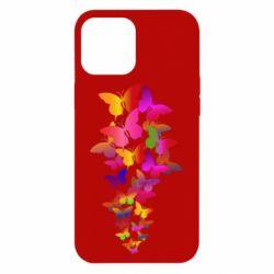 Чохол для iPhone 12 Pro Max Rainbow butterflies