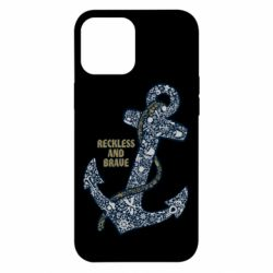 Чохол для iPhone 12 Pro Max Reckless and brave