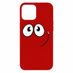 Чохол для iPhone 12 Pro Max Red ball smile