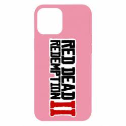 Чохол для iPhone 12 Pro Max Red Dead Redemption logo
