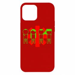 Чохол для iPhone 12 Pro Max Red Hot Chili Peppers Group