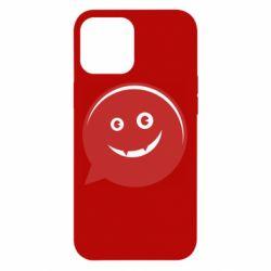 Чехол для iPhone 12 Pro Max Red smile