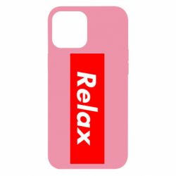Чехол для iPhone 12 Pro Max Relax red