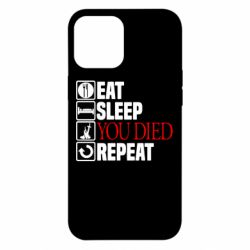 Чохол для iPhone 12 Pro Max Repeat  you died