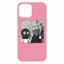 Чехол для iPhone 12 Pro Max Rick and Morty Bandits