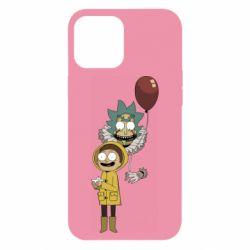 Чехол для iPhone 12 Pro Max Rick and Morty: It 2
