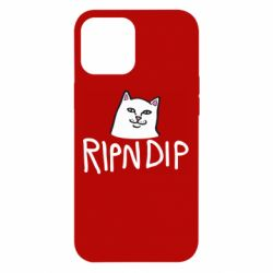 Чохол для iPhone 12 Pro Max Ripndip and cat