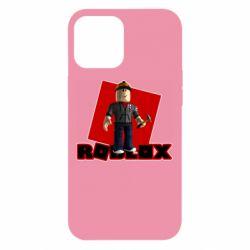 Чехол для iPhone 12 Pro Max Roblox Builderman