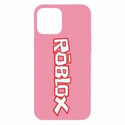 Чехол для iPhone 12 Pro Max Roblox logo