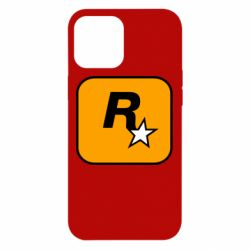Чохол для iPhone 12 Pro Max Rockstar Games logo
