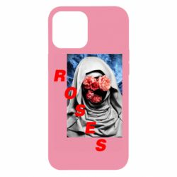 Чохол для iPhone 12 Pro Max Roses on face