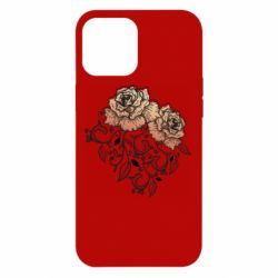 Чохол для iPhone 12 Pro Max Roses with patterns