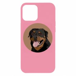 Чехол для iPhone 12 Pro Max Rottweiler vector