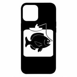 Чехол для iPhone 12 Pro Max Рыба на крючке