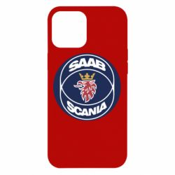 Чехол для iPhone 12 Pro Max SAAB Scania