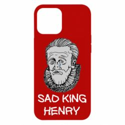 Чехол для iPhone 12 Pro Max Sad king henry