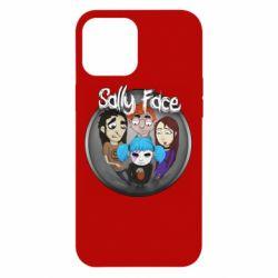 Чехол для iPhone 12 Pro Max Sally face soundtrack
