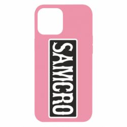 Чохол для iPhone 12 Pro Max Samcro Oroginal Logo