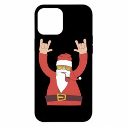 Чохол для iPhone 12 Pro Max Santa Claus with a tube