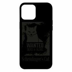 Чохол для iPhone 12 Pro Max Schrödinger's cat is wanted