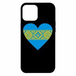 Чехол для iPhone 12 Pro Max Серце України