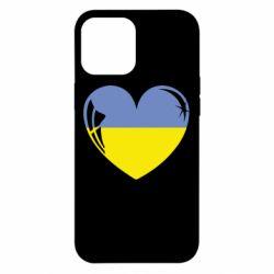 Чохол для iPhone 12 Pro Max Серце України