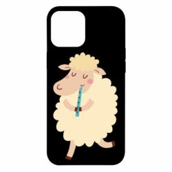 Чехол для iPhone 12 Pro Max Sheep with flute