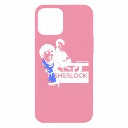 Чехол для iPhone 12 Pro Max Sherlock (Шерлок Холмс)
