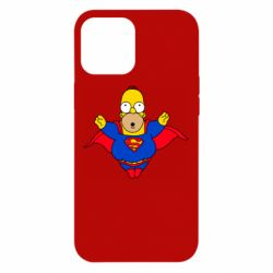 Чехол для iPhone 12 Pro Max Simpson superman