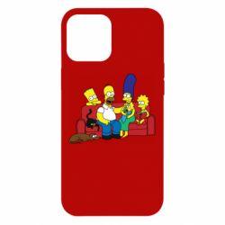 Чехол для iPhone 12 Pro Max Simpsons At Home