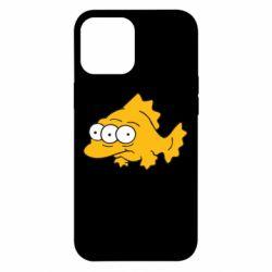 Чехол для iPhone 12 Pro Max Simpsons three eyed fish