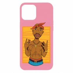 Чохол для iPhone 12 Pro Max Singer Tupac Shakur