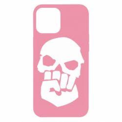 Чехол для iPhone 12 Pro Max Skull and Fist