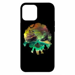 Чехол для iPhone 12 Pro Max Skull of a sea of thieves