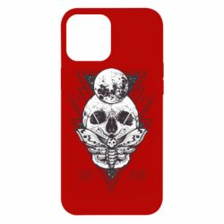 Чохол для iPhone 12 Pro Max Skull with insect
