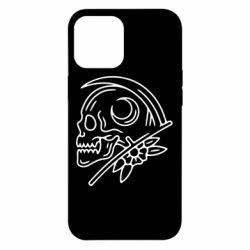 Чохол для iPhone 12 Pro Max Skull with scythe