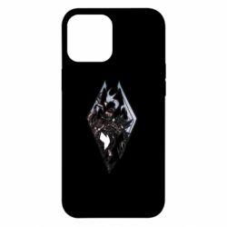 Чехол для iPhone 12 Pro Max Skyrim Logo
