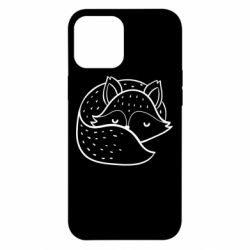 Чохол для iPhone 12 Pro Max Sleeping fox