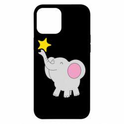 Чохол для iPhone 12 Pro Max Слон із зірочкою
