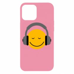 Чехол для iPhone 12 Pro Max Smile in the headphones