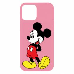 Чехол для iPhone 12 Pro Max Smiling Mickey