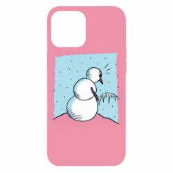 Чохол для iPhone 12 Pro Max Snowman. It's Cold!