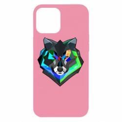 Чехол для iPhone 12 Pro Max Сolorful wolf