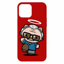 Чохол для iPhone 12 Pro Max Stan lee in hello kitty style